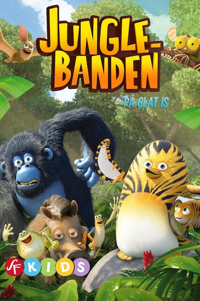 Jungle Banden - På glat is (Dansk tale)