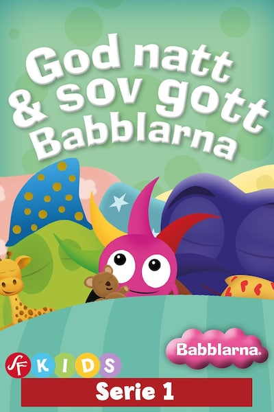 Babblarna - God natt & sov gott Babblarna