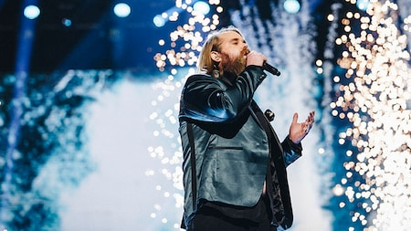 Chris Kläfford sjunger Treading water i Idol 2017