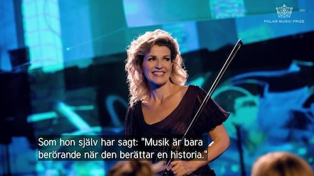 Anne-Sophie Mutter tilldelas Polarpriset 2019