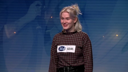 Ida Wickström - Jealous av Labrinth (hela audition 2019)