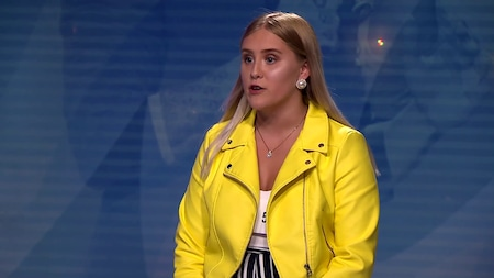 Josephine Karlsson - Sailing av Rod Stewart (hela audition 2019)