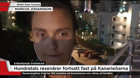 "Resenär: ""Informationen har varit katastrofal - under all kritik"""