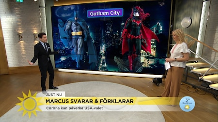 Marcus: Nu hoppar Batman in i USA-valet!