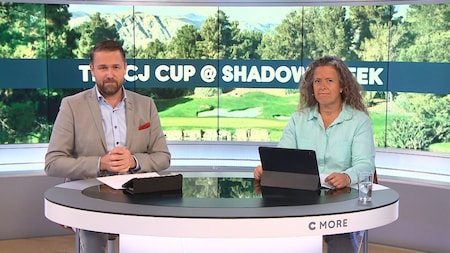 Tuff kamp om segern i CJ Cup Shadow Creek