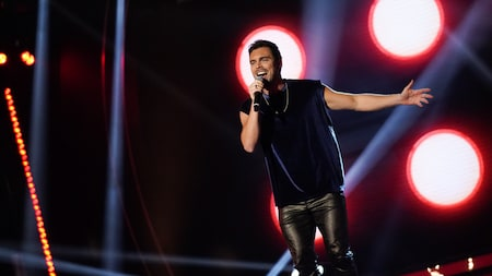 "Niklas Hultberg – ""You're the voice"" – John Farnham – Idol 2020"