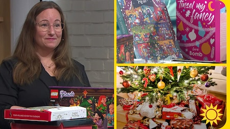 Stort urval av adventskalendrar peppar julivern