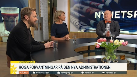 Nyhetspanelen i debatt om situationen i USA