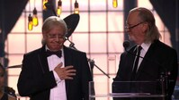 Roger Glover & Ian Paice of Deep Purple reads the citation for Metallica's Polar Music Prize